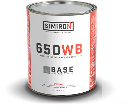 Simiron 650wb Water Based Polyamine Epoxy Floor Coating