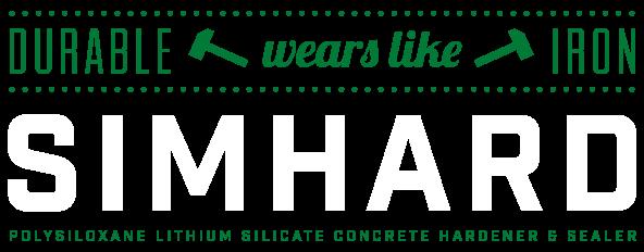 SIMHARD - Polysiloxane & Lithium Silicate Concrete Hardener